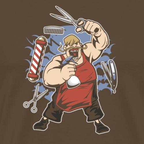 Gros coiffeur - T-shirt Premium Homme