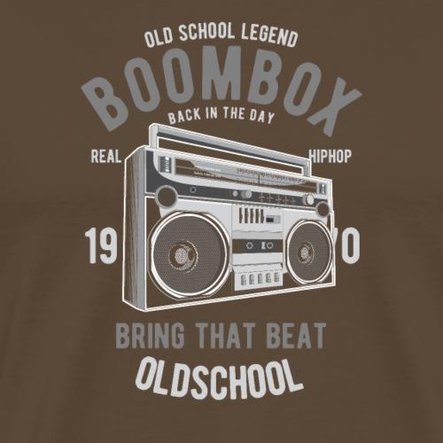 Boombox - T-shirt Premium Homme