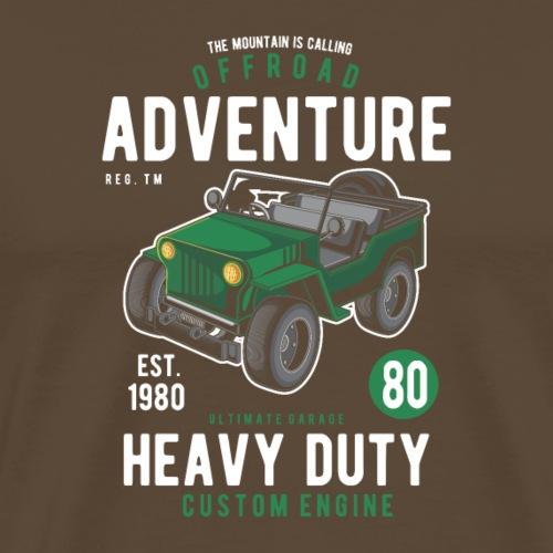 Off Road Abenteuer - Männer Premium T-Shirt