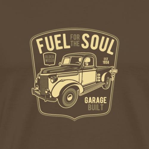 Treibstoff für die Seele - Männer Premium T-Shirt