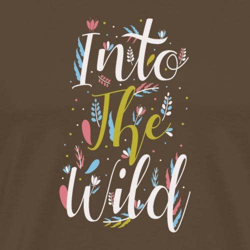 In die Wildnis - Männer Premium T-Shirt