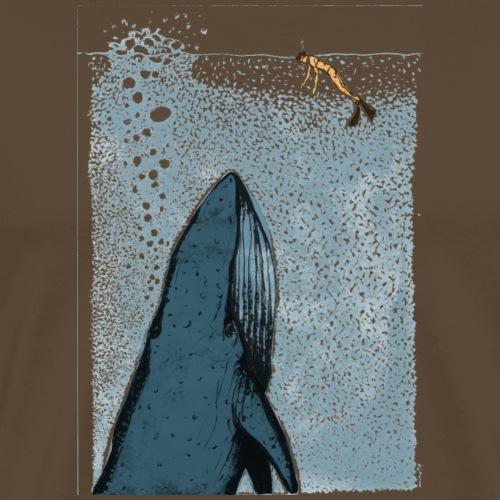 Whale watches - Männer Premium T-Shirt