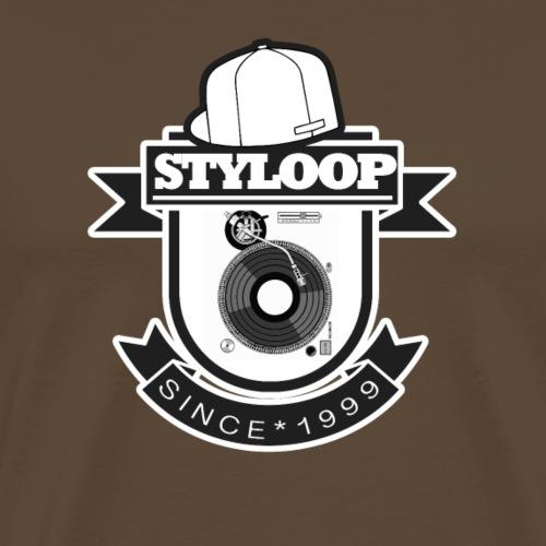 STYLOOP LOGO new turntable 2020 Kopie - Männer Premium T-Shirt