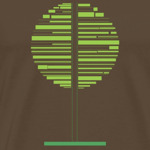 Zielone drzewo - Koszulka męska Premium