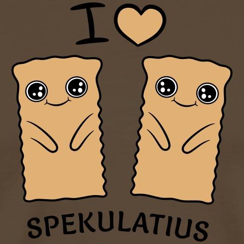 I LOVE SPEKULATIUS - Männer Premium T-Shirt
