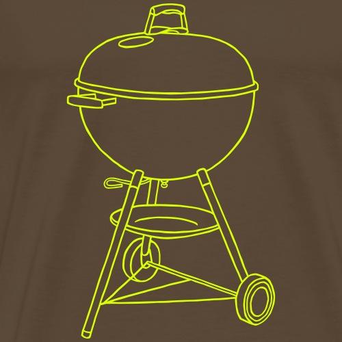 Grill - Männer Premium T-Shirt