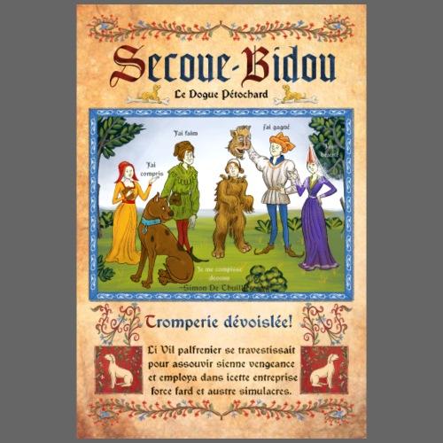Affiche Secoue Bidou - T-shirt Premium Homme