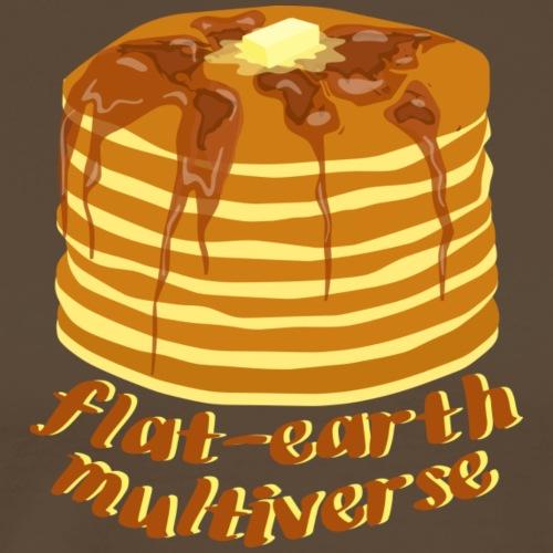 Flat-Earth Multiverse - Männer Premium T-Shirt