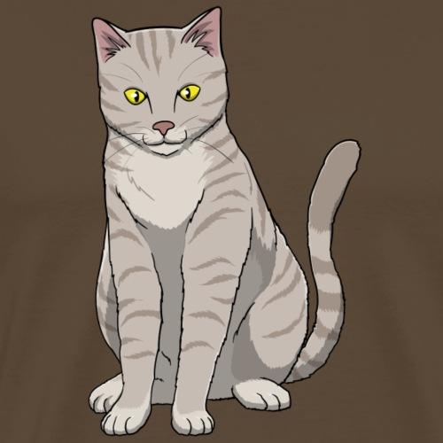 Cat Tabby - Men's Premium T-Shirt
