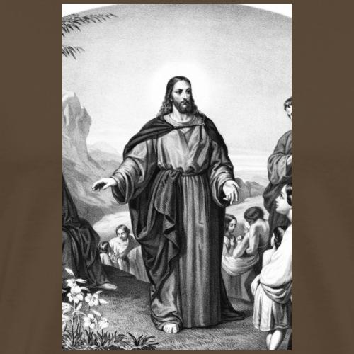 Bergpredigt - Männer Premium T-Shirt