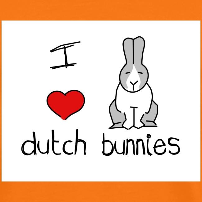 I Love Dutch Bunnies