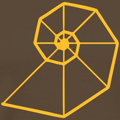 Fibonacci Spirale, Goldene Schnitt, Phi, Evolution - Männer Premium T-Shirt
