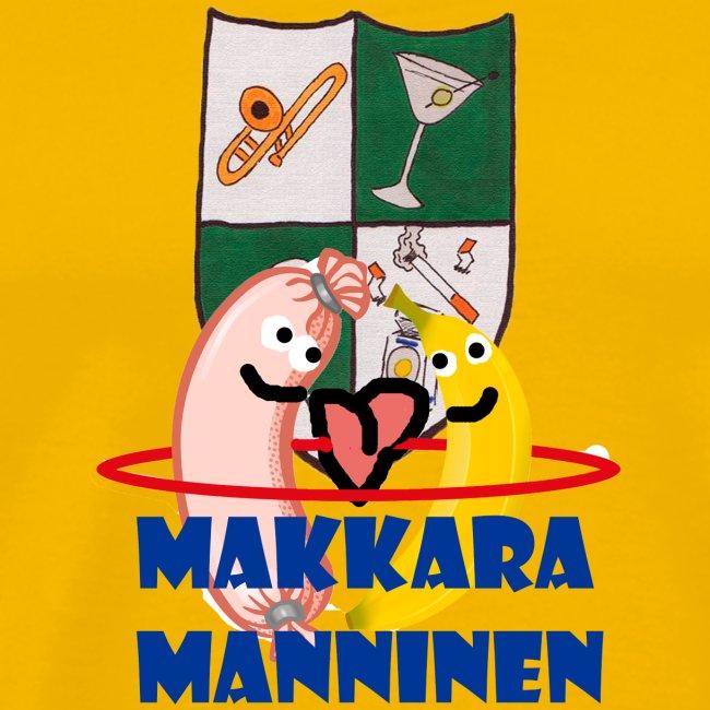 Makkara Manninen -vauvan body