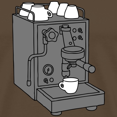 Espressomaschine 3 - Männer Premium T-Shirt