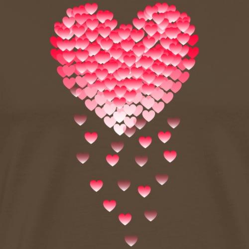 Serce z Serc Spadające - Koszulka męska Premium