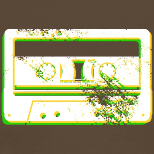 music cassette tape vintage analog musik kassette - Men's Premium T-Shirt