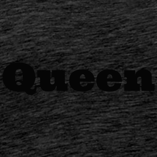 Snapback queen rood/zwart