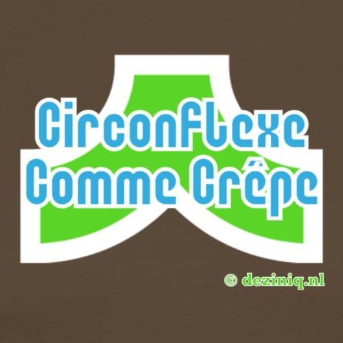 Accent circonflexe - Mannen Premium T-shirt