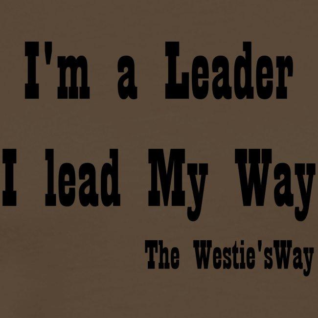 I lead My Way Black