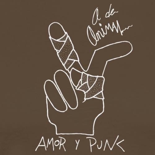 Amor y Punk II - Camiseta premium hombre
