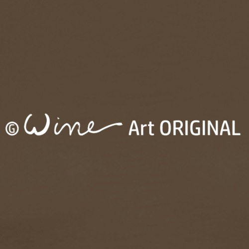 WINE ART ORIGINAL - Mannen Premium T-shirt