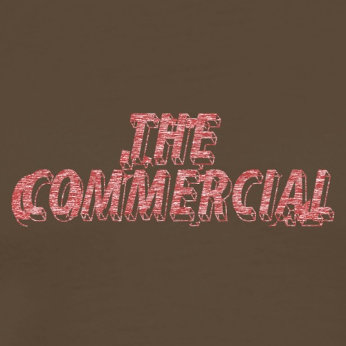 The Commercial #2 (Salmon Long Strokes) - Men's Premium T-Shirt
