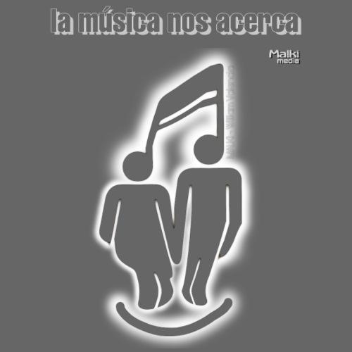 La música nos acerca II - Camiseta premium hombre