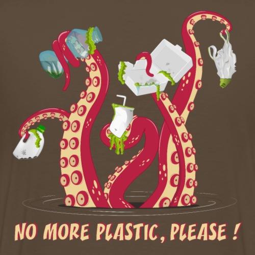 No more plastic ! - T-shirt Premium Homme