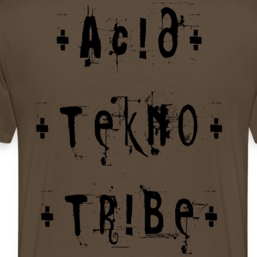 Acid tekno tribe - Männer Premium T-Shirt
