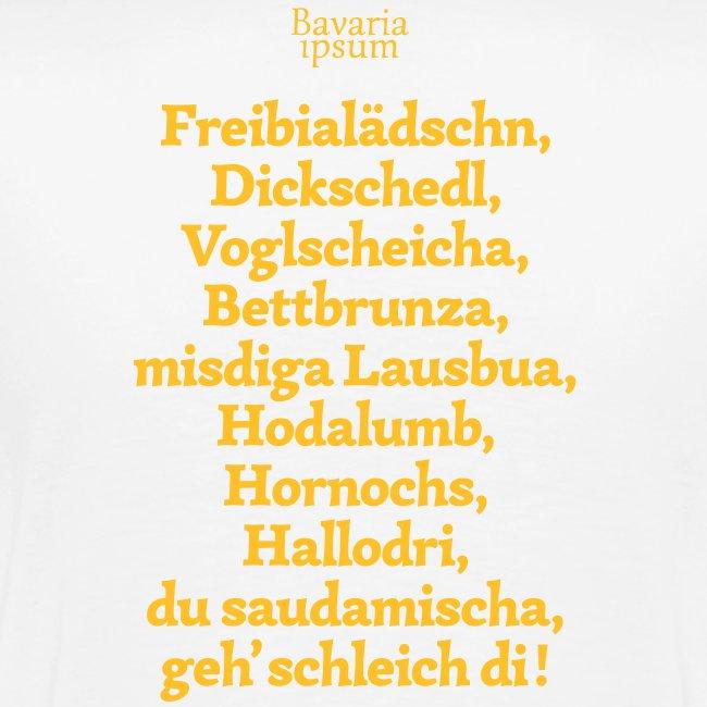 Bayrische Schimpfwörter Nr.2