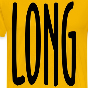 LONG - Mannen Premium T-shirt