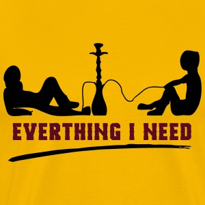 EVERYTHING I NEED! - Männer Premium T-Shirt