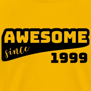 Awesome since 1999 / Birthday-Shirt - Men's Premium T-Shirt
