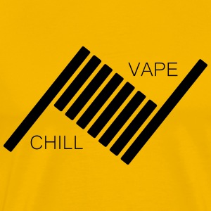 Vape og Chill - Premium T-skjorte for menn