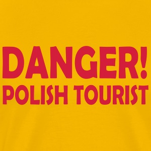 polish tourist - Men's Premium T-Shirt
