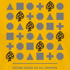 Shapes - Doing Good - Männer Premium T-Shirt