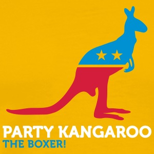 Political Party Animals: Kangaroo - Men's Premium T-Shirt