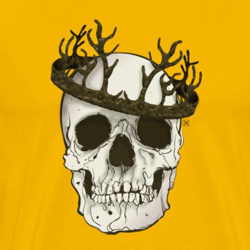 Calavera coronada - Camiseta premium hombre