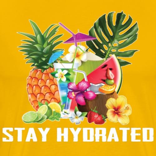 Stay Hydrated - Maglietta Premium da uomo