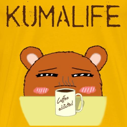 Kumalife coffee - Men's Premium T-Shirt
