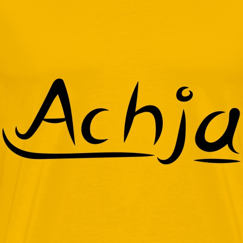 Achja - Männer Premium T-Shirt
