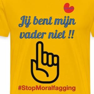 #StopMoralfagging - Mannen Premium T-shirt