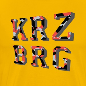 camouflage Krzbrg - T-shirt Premium Homme