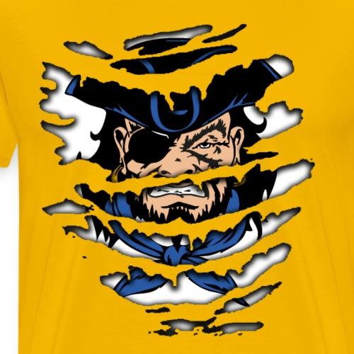 Pirates inside - Maglietta Premium da uomo