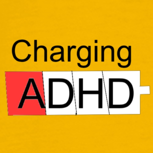 Charging ADHD - Herre premium T-shirt