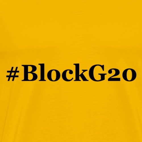 BlockG20 - Männer Premium T-Shirt