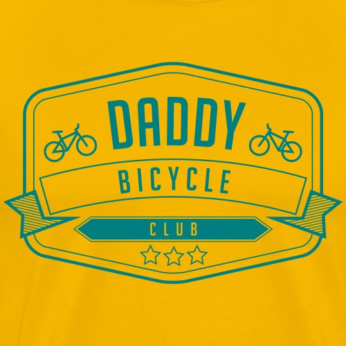 Daddy bicycle club 1 - Men's Premium T-Shirt