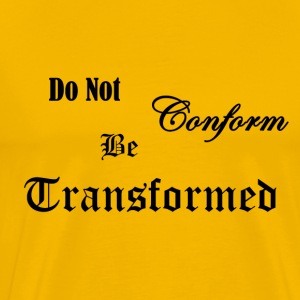 Do_Not_be_Conformed_copy - Herre premium T-shirt