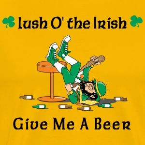 Irish Give Me A Beer - T-shirt Premium Homme