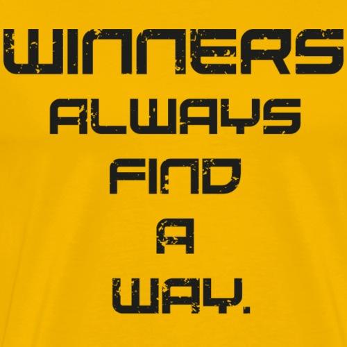 Winners' Way 2k17 Black Edition - Männer Premium T-Shirt